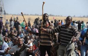Sudafrica: strage nelle miniere di platino