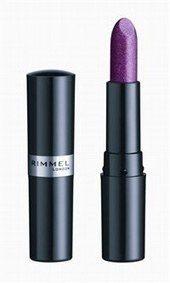 Lippenstift - Rimmel London  - Make up Trends: Die neuen Farben - Der lilafarbene Lippenstift von Rimmel London wird von keiner geringeren als Kate Moss beworben. Wir finden, dass er auf die Lippen aller Trendsetterinnen passt, außerdem überzeugt er durch ein glossy Finish...