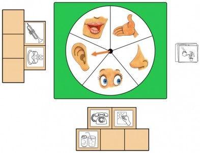 Loto de los 5 sentidos
