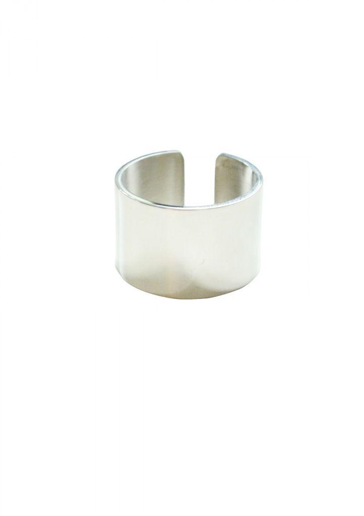 Metallic Chunky Ring