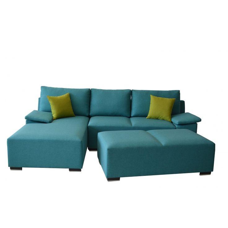 """Καναπές γωνία """"X - Five -Turquoise"""""""
