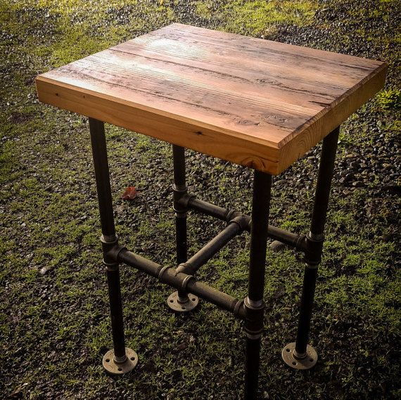 Industrial Bar Stool ON SALE by HayesAndSons on Etsy