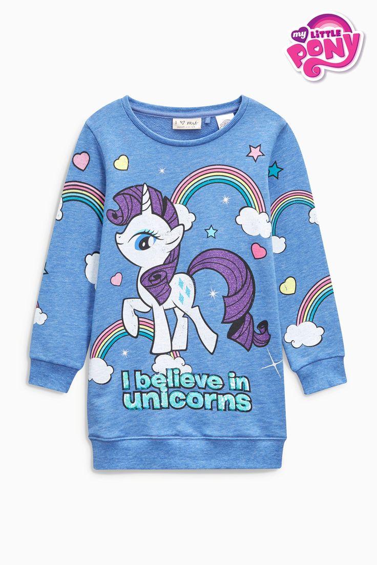 Acheter Sweat bleu à imprimé licorne My Little Pony à paillettes (3-16 ans) disponible en ligne dès aujourd'hui sur Next : France