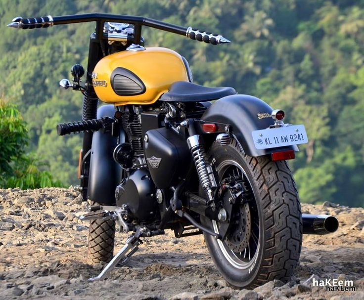 Modified classic 350 Bullet