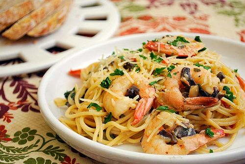 Shrimp and Mushroom Spaghetti: Seafood Recipes, Maine Dishes, Yummy Recipes, Yummy Food, Mushrooms Spaghetti Soooo, Perfect Spaghetti, Shrimp Recipes, Recipes Cooking, Healthy Seafood