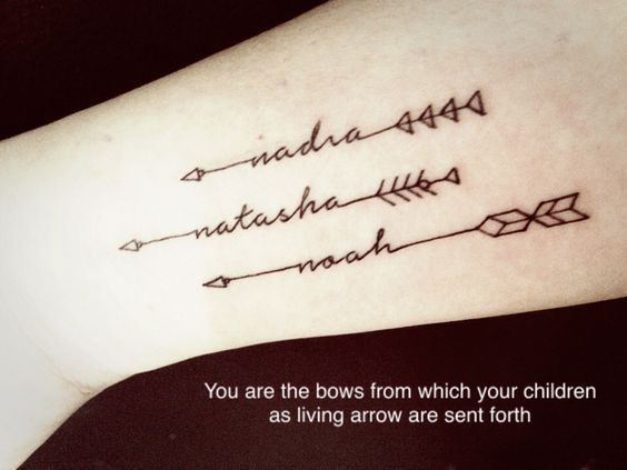 Amazing Arrow Tattoos for Female #arrow_tattoo_forearm