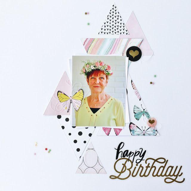 Scrapat helt enkelt: Happy Birthday!