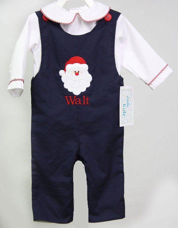 88e1e1889e90 Baby Boy First Christmas Outfit