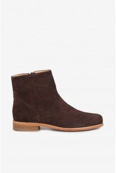 Boots plates marron