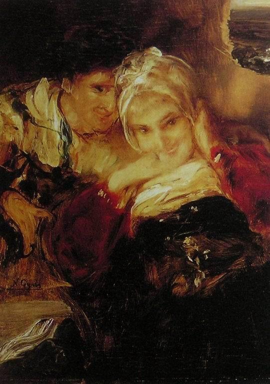 Couple  Nikolaos Gyzis