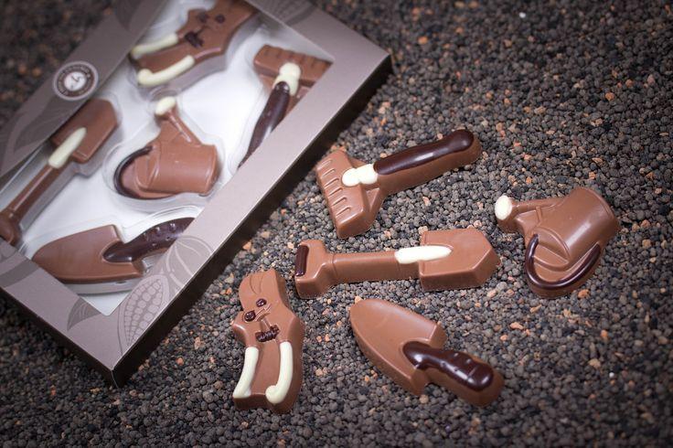 Czekoladowy zestaw narzędzi ogrodowych na Dzień Mamy #chocolate #chocolissimo #giftsideas #czekolada #pomyslnaprezent #dzienmatki #prezentdlamamy