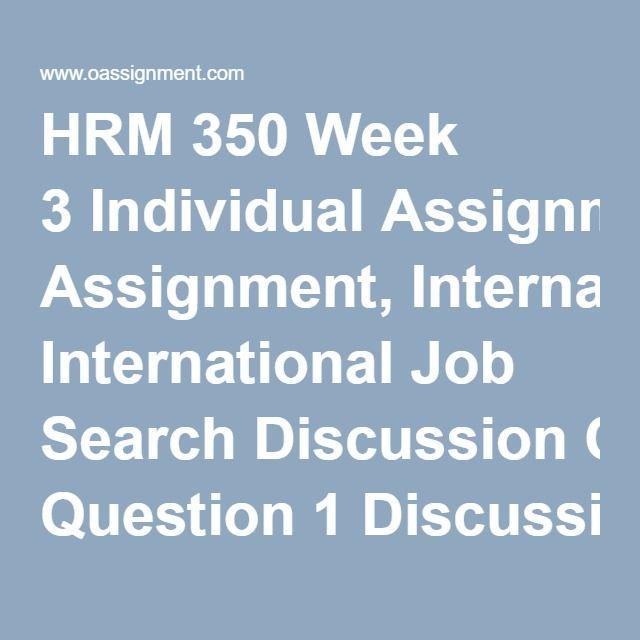 Las 25 mejores ideas sobre International Job Search en Pinterest - human resource management job description