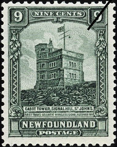 Cabot Tower, in Newfoundland