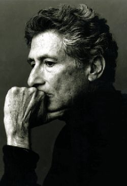 Edward Said - Incredible Intellect - he taught us to speak truth to power.