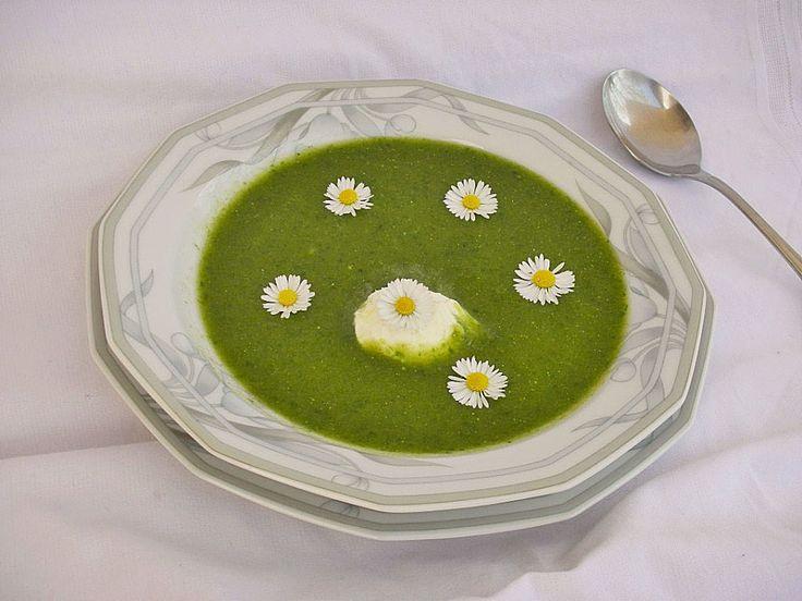 Chefkoch.de Rezept: Brennnessel - Giersch Cremesuppe