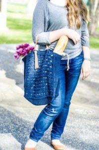 French Market Tote Crochet Kit