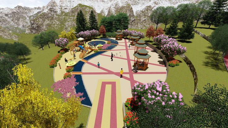 Reyhan Baycan Kent Parkı çok amaçlı Mekan Detail