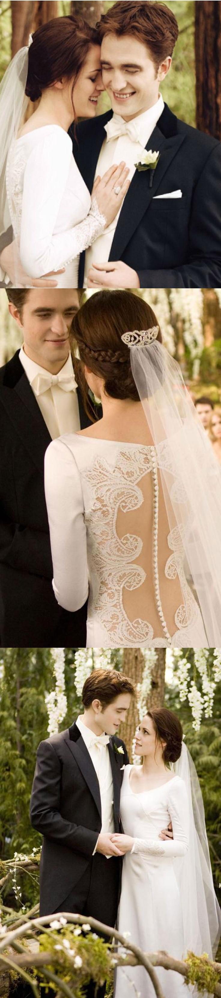 The Twilight Saga wedding~May their happy!