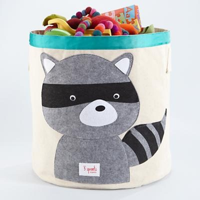 Love this storage bin, but I don't know if it's large enough to make a dent in our mess!