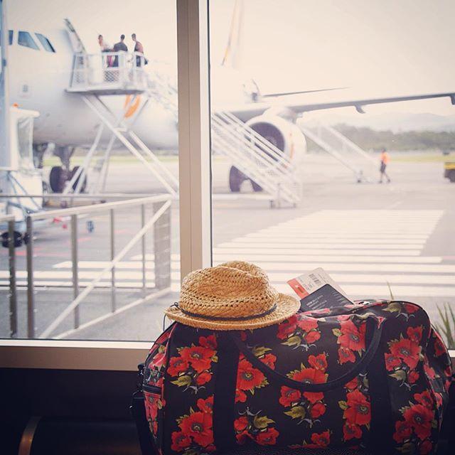 I want to take this duffel bag on an adventure! #elephantstripes
