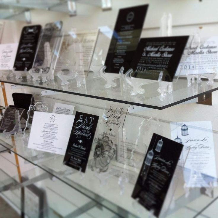 Come on in to our Inspired Design store and view our beautiful range of Acrylic Invitations. We can custom make to suit your theme with such glorious shapes and cut outs. You will be inspired!!!! #invitations #inspireddesign #acrylic #acrylicinvitations #acrylicinvitation #weddinginspo #weddinginvitations #cutout #christeninginvitation #firstbirthdayinvitation #letterpress #floralinvitation #baptism #weddingstationery #goldfont #blackfont #whitefont  #Regram via @inspireddesigninvites&hl=en