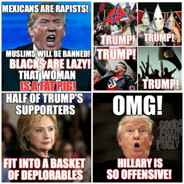 Funny 2016 Election Memes: Basket of Deplorables