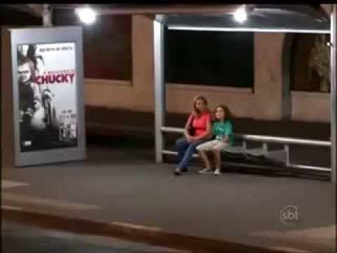 Pegadinha: Maldição Do Boneco Chuck / SBT Silvio Santos The Curse Of Chucky Prank - YouTube