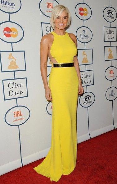 Yolanda Foster Evening Dress