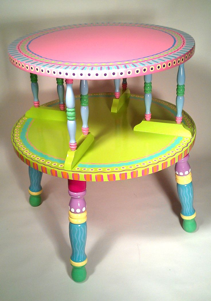 Funky Tables 127 best tips and ideas for painting whimsical/funky furniture
