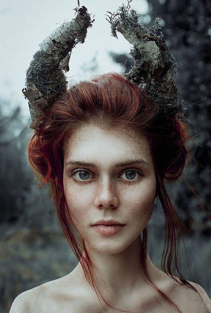 Lovely idea for a forest fairy at a larp conventio…