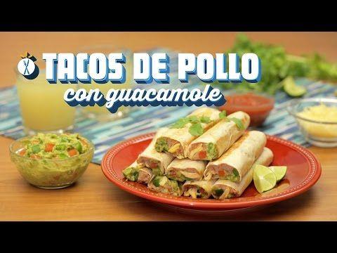 ¿Cómo preparar Tacos de Pollo con Guacamole? - Cocina Fresca