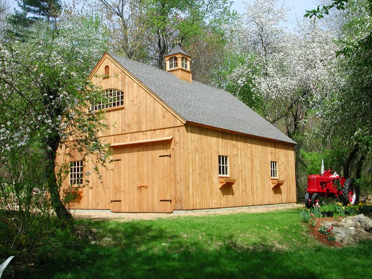 Our 24 X 30 One Story Barn Www Countrycarpenters Com One Story Barns 24 Deep Pinterest First Story