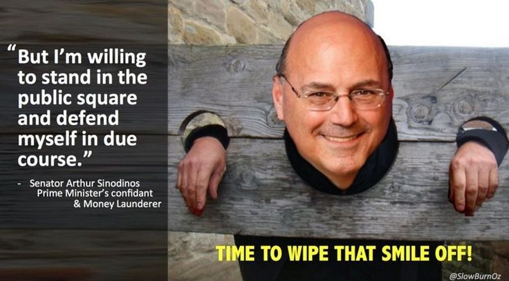 Sinodinos: The not so Artful Dodger Ross Jones 29 April 2016, 5:00pm 12 CrimePolitics 214 ? 0 0   Public square … but not Parliament? Come on Arfur, you're taking us for mugs! Arthur Si… https://winstonclose.me/2016/04/30/sinodinos-the-not-so-artful-dodger-by-ross-jones/
