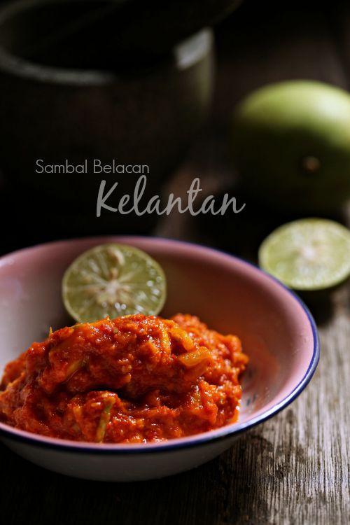 masam manis: Sambal belacan Istimewa Kelantan
