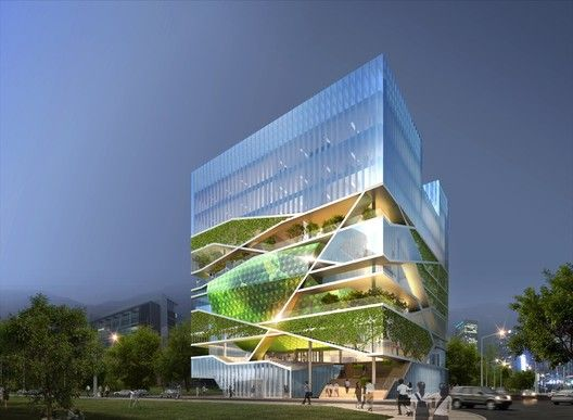 Culture Forest / Unsangdong Architects,Courtesy of Unsangdong Architects