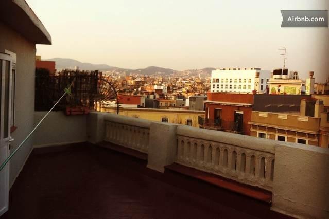 Большой Центральной бюджета плоский ш терраса in Barcelona от $82 в сутки  --------------------  лучший вариант, но и в итоге самый дорогой)