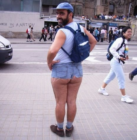 uh NO!: Real Life, Shorts Shorts, Hot Pants, Funny Pictures, Self Confidence, Jeans Shorts, Daisies Dukes, Hot Summer, Funny People
