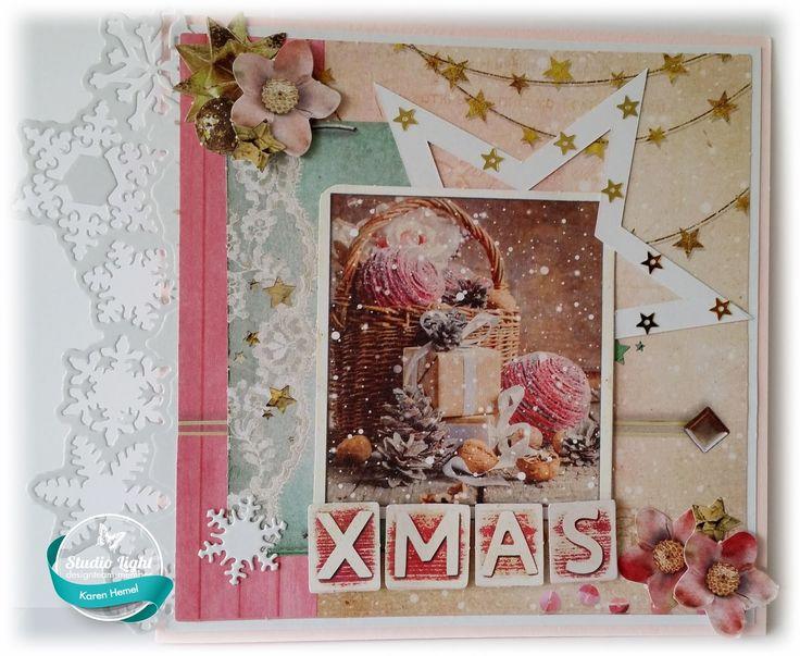 Stansblok: Sparkling Christmas