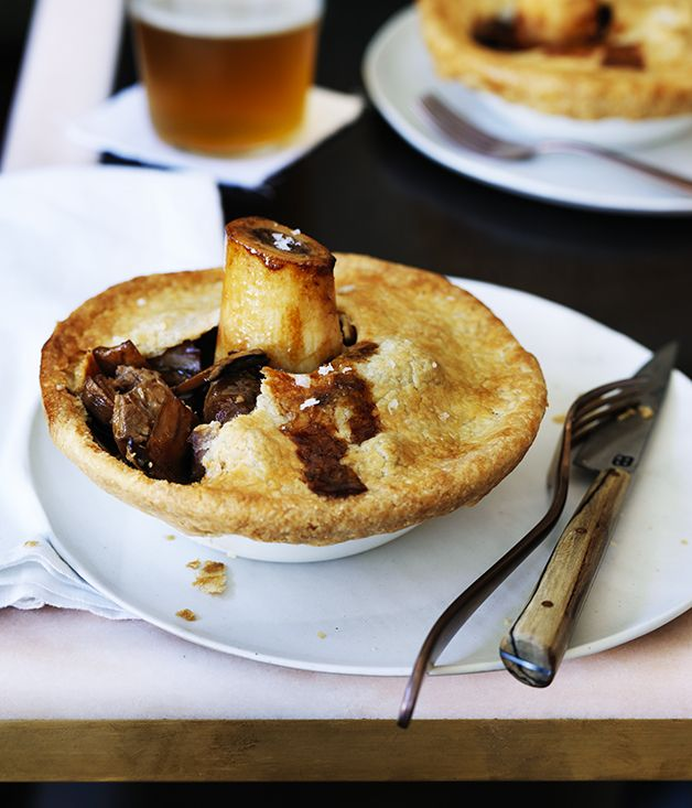 Curtis Stone's osso bucco pies :: Gourmet Traveller