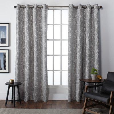 Bedroom Curtains?? Amalgamated Textiles Finesse Curtain Panel & Reviews | Wayfair