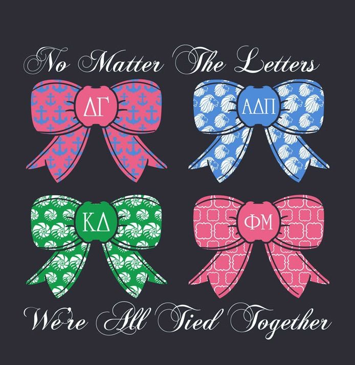 No Matter The Letters We're All Tied Together, Tennessee Tech Panhellenic Recruitment 2013