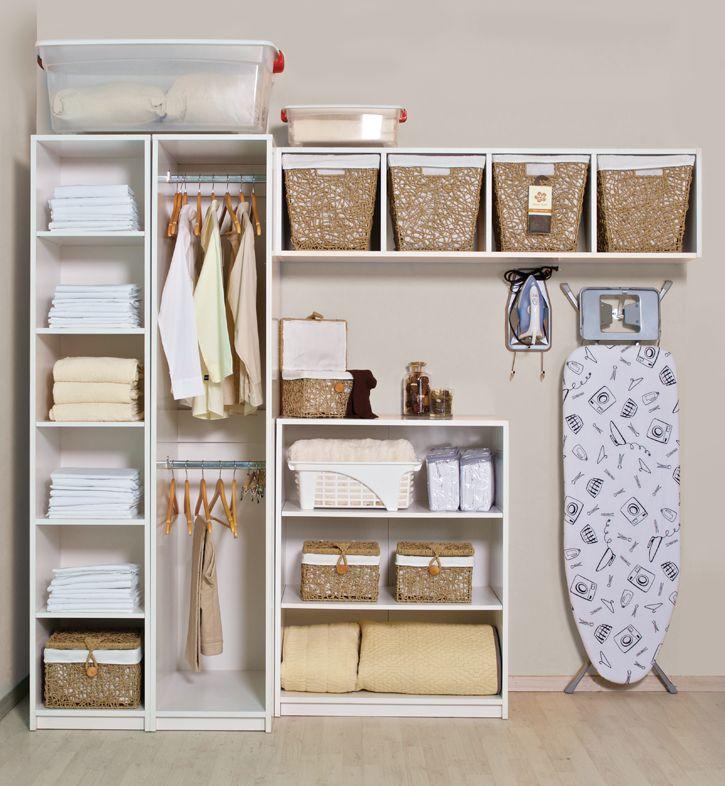 M s de 1000 ideas sobre estantes de la cesta de lavado en - Muebles para lavaderos ...