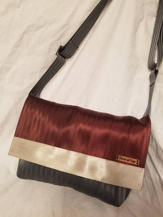 Check out this item in my Etsy shop https://www.etsy.com/ca/listing/569070520/seatbet-purse-seatbelt-bag-burgundy