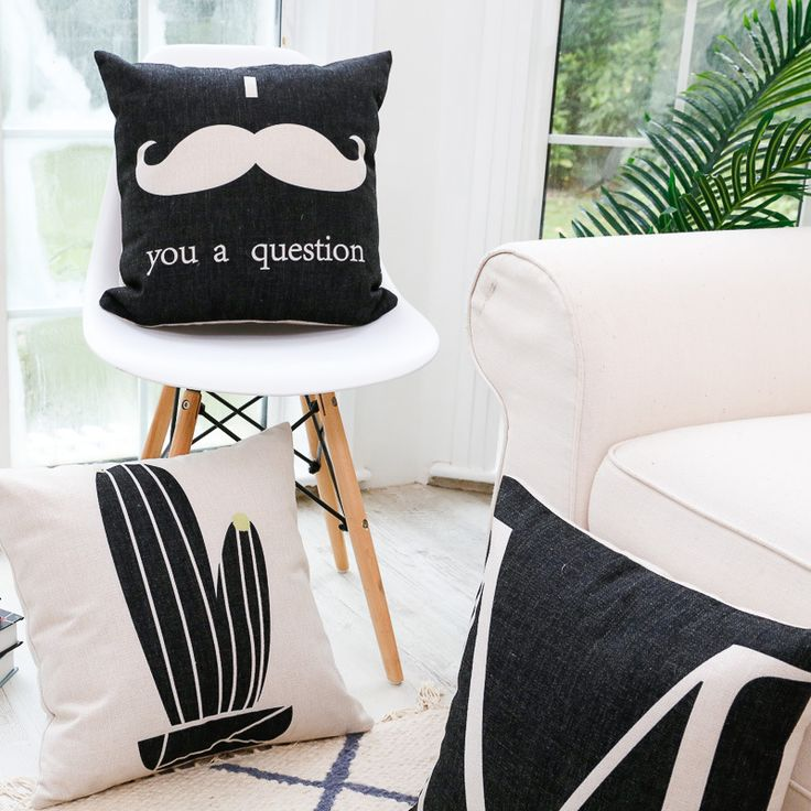Find More Cushion Cover Information about Nordic Modern Decorative Pillow Sofa Throw Geometric Cushion Cover For Sofa Car Seat Shabby Chic Home Decor Custom Cushion Cover,High Quality cushion cover,China custom cushion cover Suppliers, Cheap cushion covers for sofa from WK HomeTextiles Store on Aliexpress.com