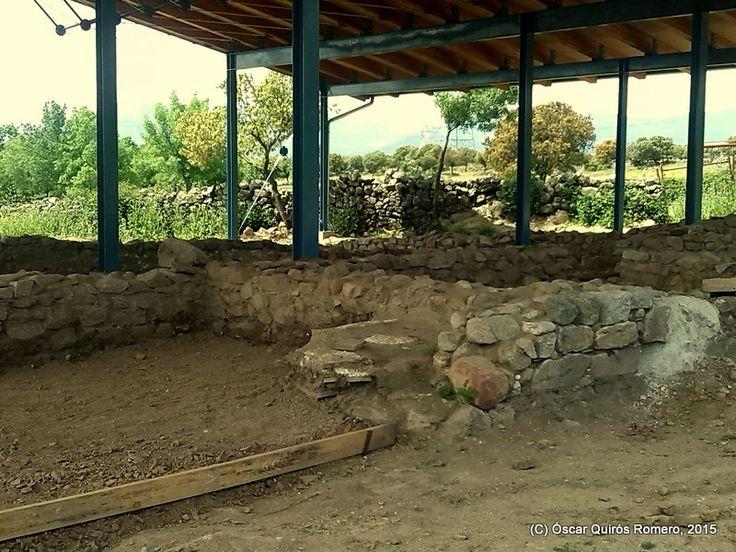 Año 2015: Detalle de la zona en la que se han encontrado cubiertos y utensilios de cocina romanos