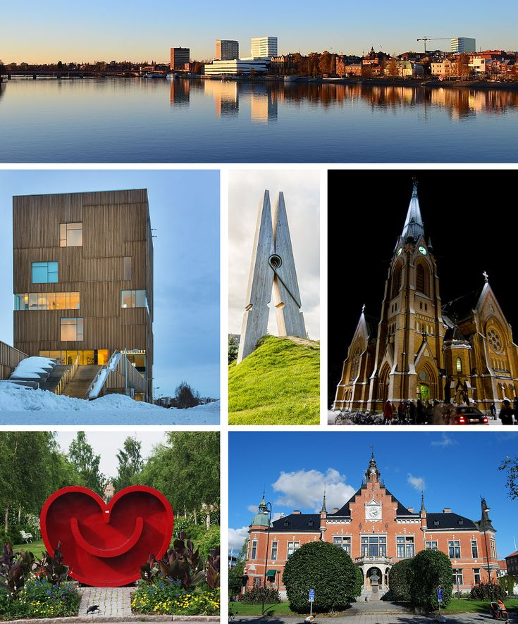 Umeå - Sweden, where I first started working with leather.