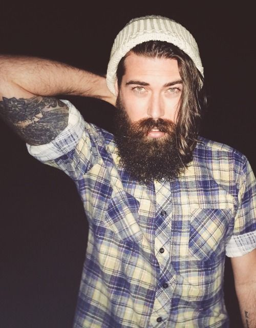 499 best images about lumbersexual on pinterest beards for Bearded tattooed man