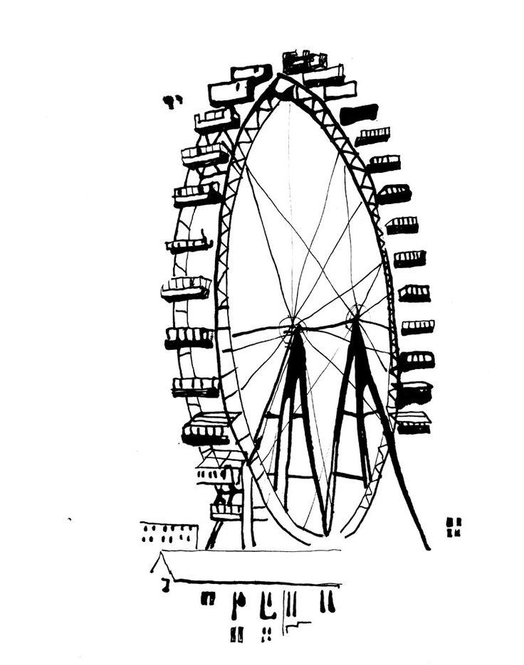 Stina Johnson - Paris, La grande roue