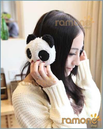 Aquecedor Protetor De Orelha Panda - Esquente O Frio !!