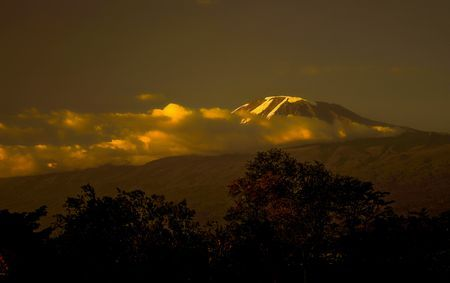Sunset Over Kilimanjaro Mountain Photo by Nora de Angelli - www.noraphotos.com -- National Geographic Your Shot